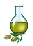 Olive oil. Detailed vector illustration for your projects Royalty Free Stock Photos