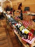 Olive Oil Display immagini stock