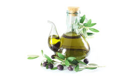 Olive Oil Extra Virgin Stock Photography