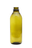 Olive oil in glass bottle Royalty Free Stock Photography