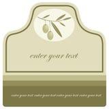 Olive Oil / Label. Olive Oil label / logo / icon Stock Photo