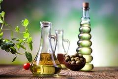 Olive Oil, Mediterranean rural theme Stock Photos