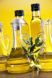 Olive oil and olives, olive tree Stock Photography