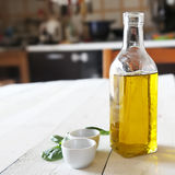 Olive oil photo Royalty Free Stock Photos