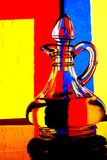Olive Oil Pitcher Abstract Royalty Free Stock Images