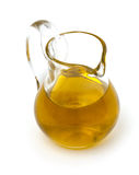 Olive oil in a pitcher Royalty Free Stock Photos