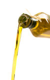 Olive Oil Poured Stock Photography