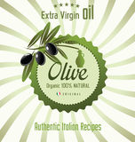 Olive oil retro background. Olive oil retro vintage background Royalty Free Stock Photos