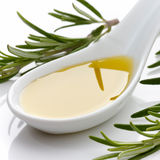 Olive Oil with Rosemary Royalty Free Stock Photo