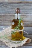 Olive oil and rosemary Royalty Free Stock Image