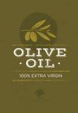 Olive Oil Rough Vector Illustration organica sul fondo di lerciume illustrazione di stock