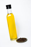 Olive oil and spices Royalty Free Stock Image
