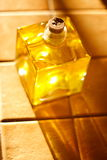 Olive oil in the sun Royalty Free Stock Images