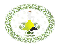 Olive oil. Royalty Free Stock Image