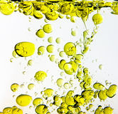 Olive Oil in Water royalty free stock photography