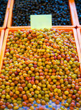 Olive on Open Market Bazaar Royalty Free Stock Photos