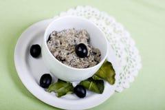 Olive paste Stock Photo