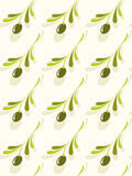 Olive pattern Stock Image