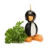 Olive penguin Royalty Free Stock Photo