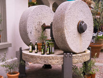 Olive Press at Malcesine on Lake Garda in Northern Italy Stock Photography