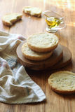 Olive Sable Cookies Stock Photo