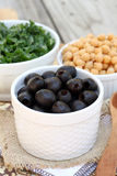 Olive Salad Ingredients Stock Photography