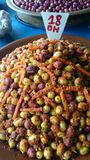 Olive saporite Immagini Stock