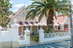 Olive Schreiner Cottage em Matjiesfontein fotografia de stock royalty free