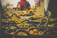 Olive shop Stock Image