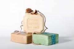 Olive soap Royalty Free Stock Photos
