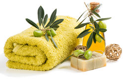 Olive spa Stock Image
