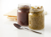 Olive spread Royalty Free Stock Photo