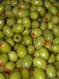 Olive stack Stock Image