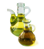 Olive and sunflower oil Stock Photography
