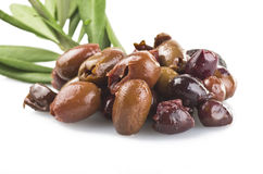 Olive taggiasche Royalty Free Stock Photography