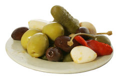 Olive Tapa 1 Royalty Free Stock Photography