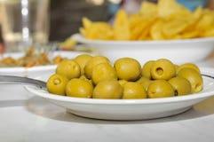 Olive tapas Stock Photos