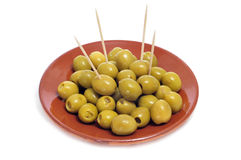 Olive tapas Stock Photos