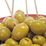Olive tapas Royalty Free Stock Photo