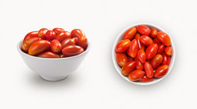 Olive tomatoes Royalty Free Stock Photo
