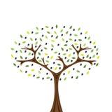 olive tree Royaltyfri Illustrationer