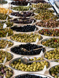 Olive varieties Stock Photos