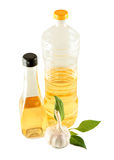 Olive and vegetable oil Stock Photography
