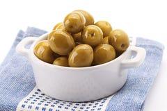 Olive verdi Fotografia Stock Libera da Diritti