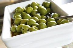 Olive verdi Immagini Stock