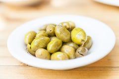 Olive verdi Fotografia Stock