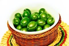 Olive verte Photo libre de droits