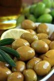 Olive verte Images libres de droits