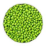 Olive verte moissonnée fraîche d'isolement sur le blanc images libres de droits
