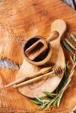 Olive wood kitchen utensil Stock Images